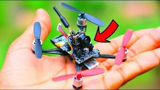 How To Make Drone with Camera At Home ( Quadcopter) - FPV Racing Drone | Mr afi