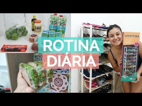 COMPREI UMA SAPATEIRA, MERCADO, LANCHE NATURAL E MAIS | VIDA A UM ♥