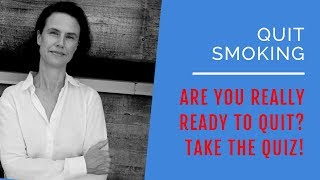 Quit Smoking Cigarettes: Are You REALLY Ready? Take the QUIZ
