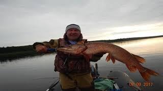 Рыбалка на северной сосьве летом