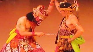 Gambar cover TARI BAMBANGAN CAKIL SUPER LUCU - Dalijo Angkring TVRI - Ramayana Ballet Prambanan [HD]