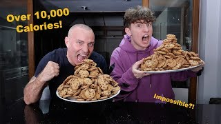 We attempted the 200 COOKIE CHALLENGE!! (10,000 CALORIES)