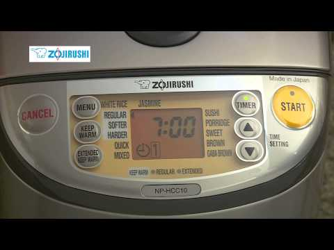ZOJIRUSHI INDUCTION HEATING SYSTEM RICE COOKER & WARMER NP-HCC10/18