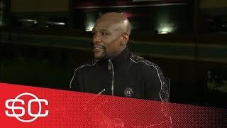 ESPN Archives: Floyd Mayweather on KO'ing Conor McGregor [full post-fight interview]