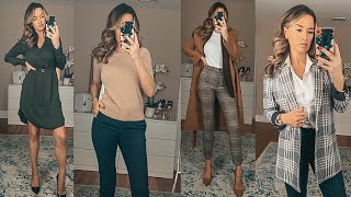 JOB INTERVIEW LOOKBOOK | What To Wear To A Job Interview