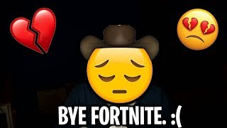 I've Been Banned From Fortnite. (FaZe Jarvis Parody) (I'm Sorry)