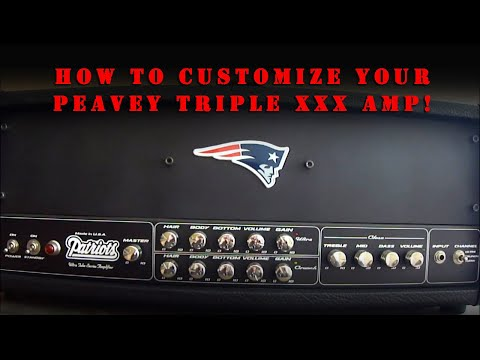How To Customize Your Peavey Triple XXX Guitar Amplifier