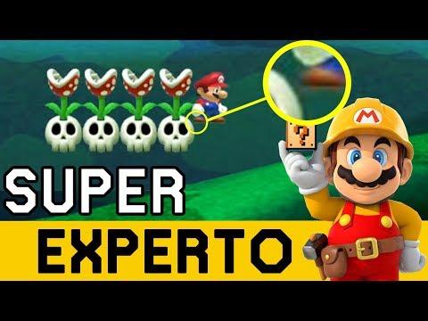 Cuando tu Vida Depende del DEDO GORDO - SUPER EXPERTO NO SKIP | Super Mario Maker - ZetaSSJ