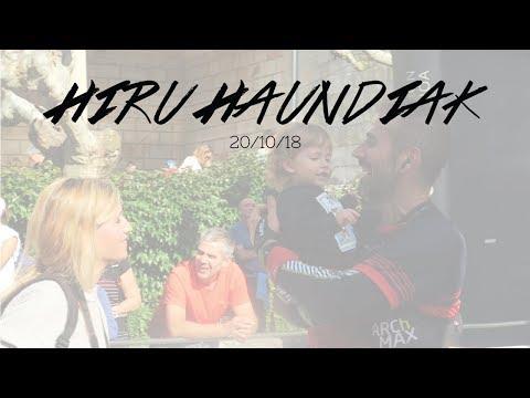 Hiru Haundiak '18 || Joseba Inoriza