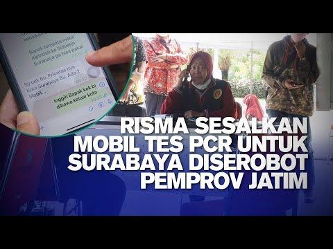 Risma Sesalkan Mobil Tes PCR untuk Surabaya Diserobot Pemprov Jatim