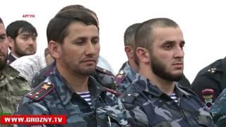 Магомед Даудов вместе с Михаилом Федотовым побывали в РОВД Аргуна