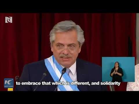 Alberto Fernandez becomes new president of Argentina