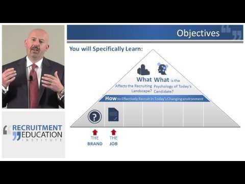 Recruiter Certification Program - Online Video Training - YouTube