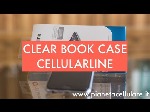 Recensione Clear Book Case Apple iPhone 6 by Cellularline