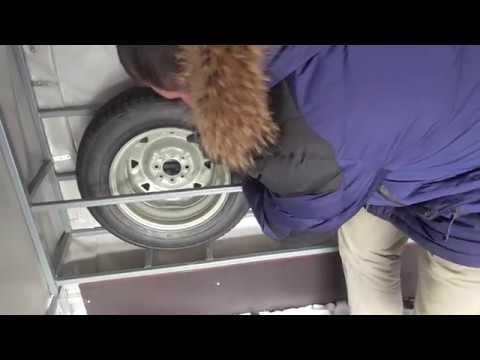 Ниша для запасных колес прицепа МЗСА 817732. ЕВРО тент. Оцинкованные крылья. ЦЛП АРИВА mp3 yukle - mp3.DINAMIK.az