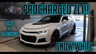 The ZL1 makes CRAZY power on the dyno and....