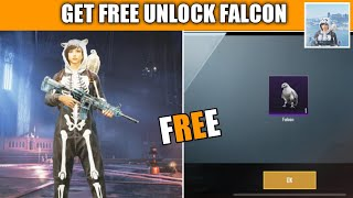 How To Unlock Falcon Pubg Mobile !! Get Free To Unlock Falcon Companion In Pubg Mobile