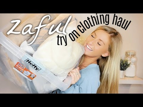 zaful try on clothing haul | is it good for the prices??