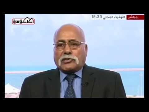"""فيديو: """"اللواء سليمان العبيدي"""" يُطالب الأمم المتحدة بفرض حظرٍ جوي على منطقة الهلال النفطي"""