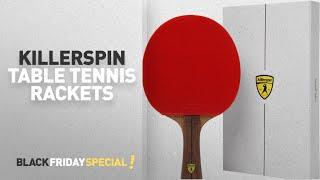 Black Friday Killerspin Table Tennis Rackets: Killerspin JET800 SPEED N1 Table Tennis Paddle -