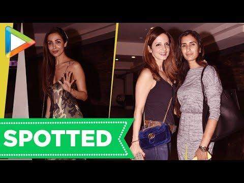 SPOTTED: Malaika Arora, Pragya Kapoor @Sussanne Khan House Party
