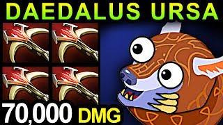 DAEDALUS URSA - DOTA 2 PATCH 7.07 NEW META PRO GAMEPLAY