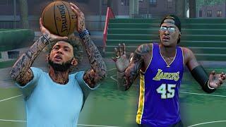 NBA 2k16 MyCOURT 1V1 H.O.R.S.E CHALLENGE Vs StaxMontana
