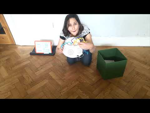 Screenshot of video: Attention Autism - Fun ideas for home