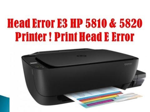 HP Ink Tank Wireless 410 | 415 | 418 | 419 : E4 errors