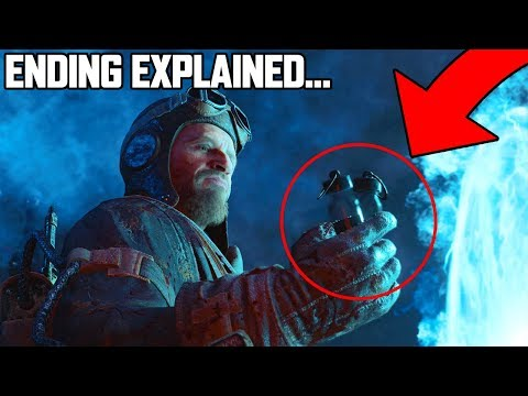 BLOOD OF THE DEAD - THE REAL ENDING EXPLAINED (BLACK OPS 4 ZOMBIES CUTSCENE STORYLINE EXPLAINED)