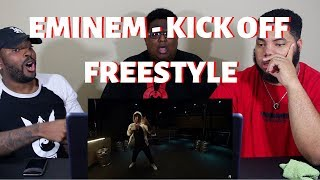"Eminem - ""Kick Off"" (Freestyle) - REACTION!!!"