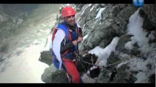 Швейцария. Восхождение и прыжок с горы Маттерхорн