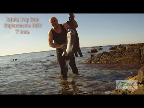Pescasub : Vestizione Giacca 7 mm. Top Sub Supercaccia