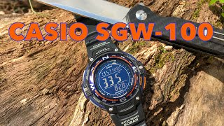 Casio SGW-100 : Does an Electronic Wrist Compass Really Work?