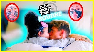 Our Everyday Night Routine As A COUPLE! *cute*