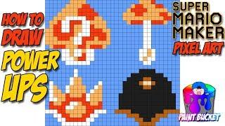 Super Mario Sprite Grid