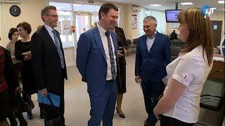 Новгородскую область посетил начальник департамента Пенсионного фонда России Сергей Чирков