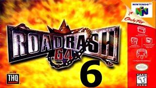 Road Rash 64 - Walkthrough - Part 6 -  Big Game CHAMPION - Video Youtube