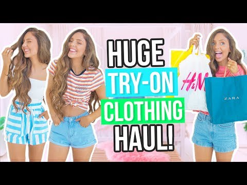 HUGE TRY ON Clothing Haul 2017! Forever 21, Zara, H&M, Cotton On & More!