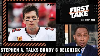 Stephen A. says it's OK to treat Tom Brady differently following the comments about Bill Belichick