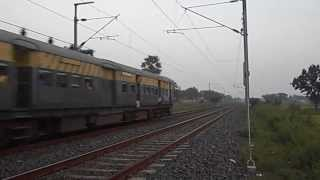 preview picture of video 'Jhajha Asansol Local progressing towards Asansol'