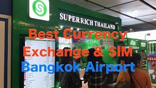 Best Money Exchange & SIM Card in Suvarnabhumi Airport, Bangkok, Thailand | SUPERRICH THAILAND | AIS