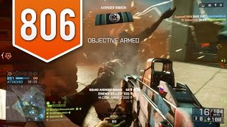 BATTLEFIELD 4 (PS4) - Road to Max Rank - Live Multiplayer Gameplay #806 - HE'S NEXT TO YOU!