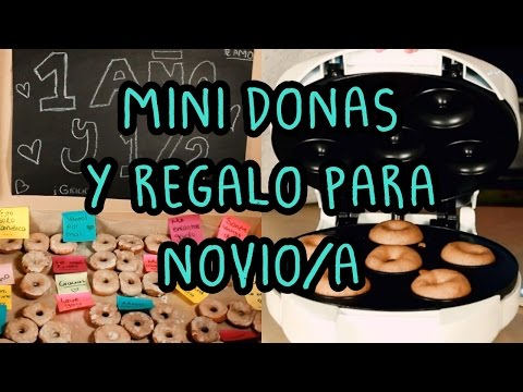 COMO HACER DONAS CON MAQUINA | REGALO ESPECIAL ♡
