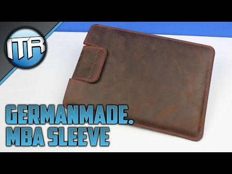 Germanmade. Echtleder-Sleeve für MacBook Air [HD] - Deutsch/German