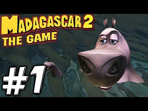 Прохождение Мадагаскар 2: Побез из Африки - Часть 1 - Начало приключений.