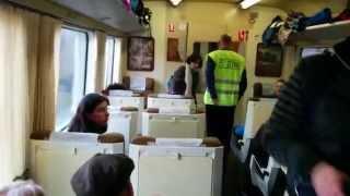 preview picture of video 'Interior del Catalan Talgo a Puigcerda'