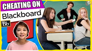 How to Prevent Students from Cheating While Taking Exams on Blackboard