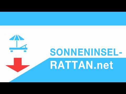 Sonneninsel Rattan XXL