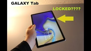 Galaxy Tab S4 Reset forgot PASSWORD or Pattern , FINGER PRINT & hard reset